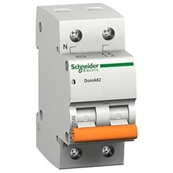 Interruttore magnetotermico DOMA45 2P C 25A