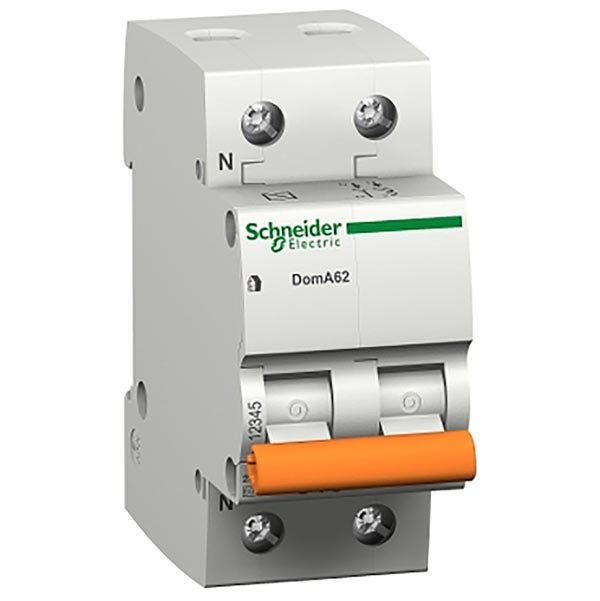 Interruttore magnetotermico DOMA47 1P+N C 25A