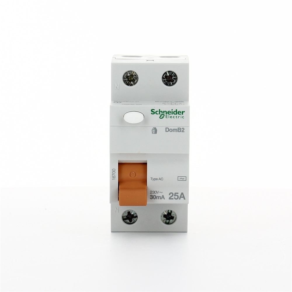 Interruttore protezione differenziale DomB2 2P 25A 30mA tipo AC