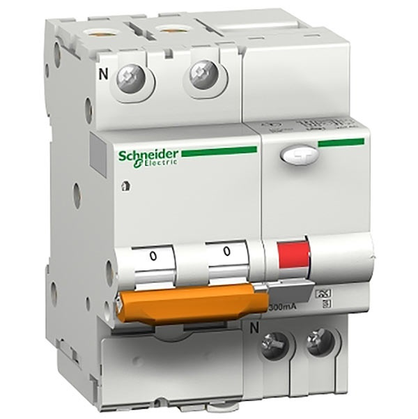 Interruttore magnetotermico differenziale DOMC45 1P+N C   6A 30MA TIPO AC