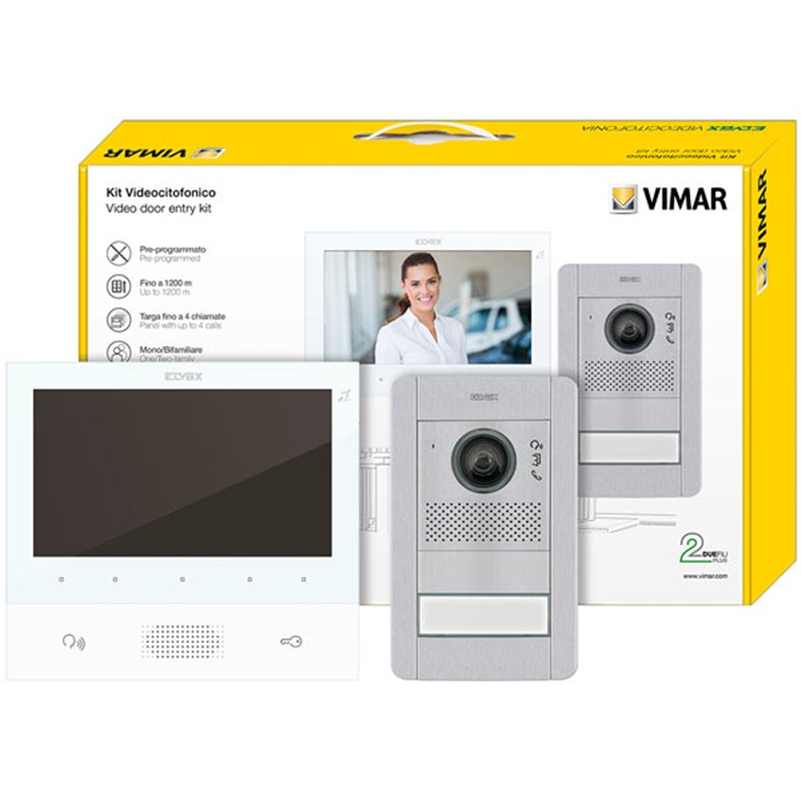 Kit videocitofonico m/bif.TAB 7 b.+41003