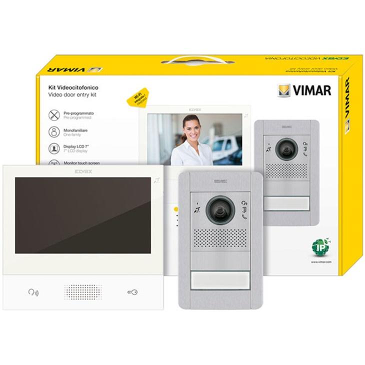Kit videocitofonico mono IP Tab 7S+41006