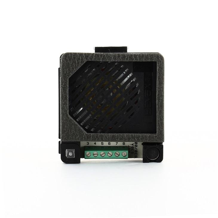 Unità elettronica Sound System audio munita di altoparlante e microfono elettrete amplificato