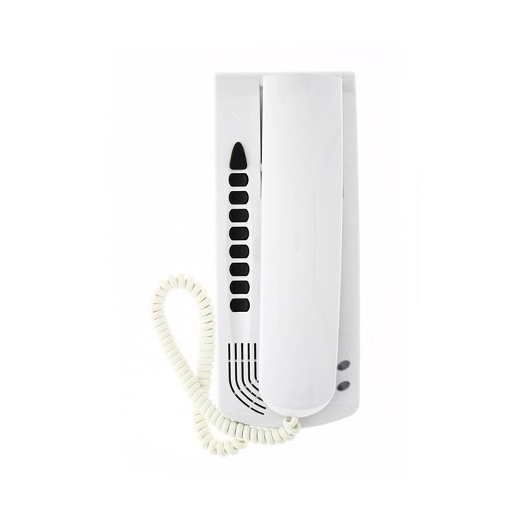 Citofono da parete per portiere elettrico videocitofonia e sistema intercomunicante con altoparlante per Sound System bianco