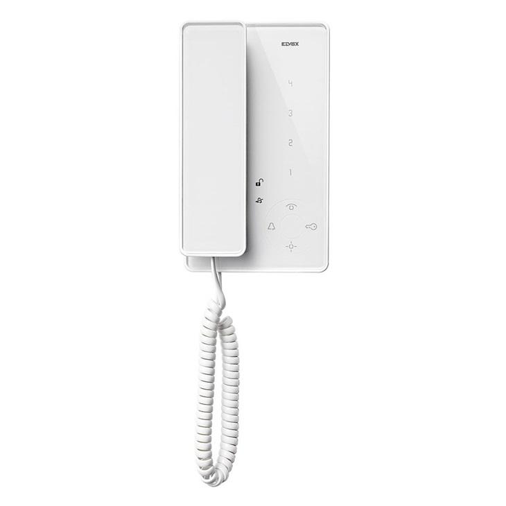 Citofono Tab con microtelefono bianco