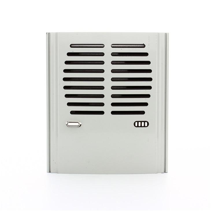 Modulo base audio per unità elettroniche grigio luce RAL 7035