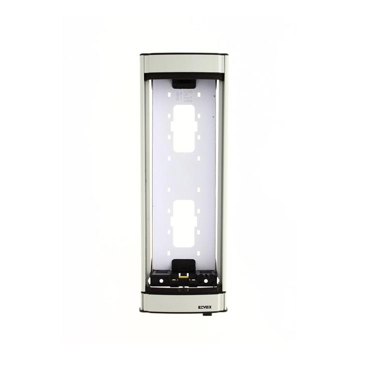 Telaio per 2 moduli per 2 soli moduli supplementari grigio luce RAL 7035