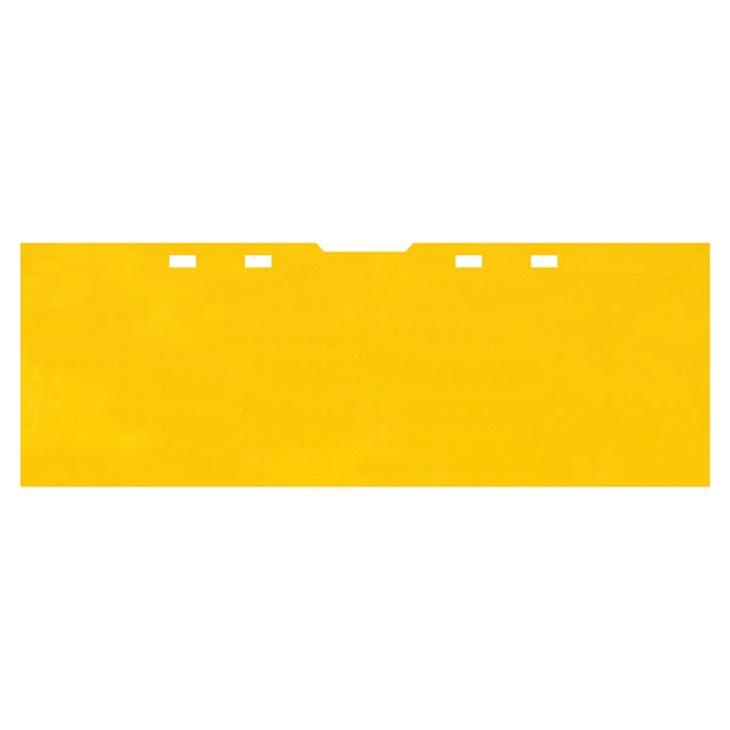 Separatore orizzontale giallo