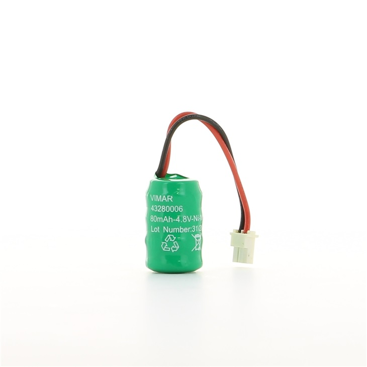Batteria ricaricabile Ni-MH 4,8V 80mAh