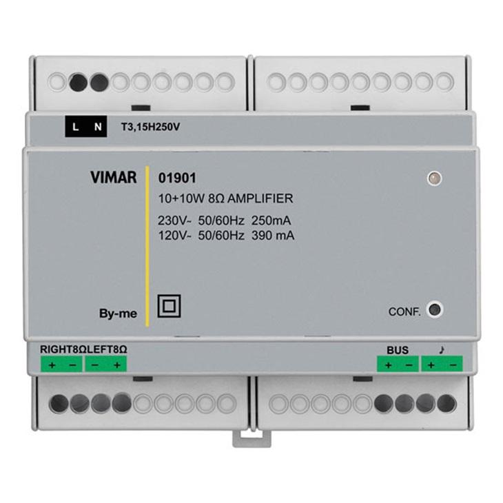 Amplificatore stereo 2uscite 8ohm 10+10W