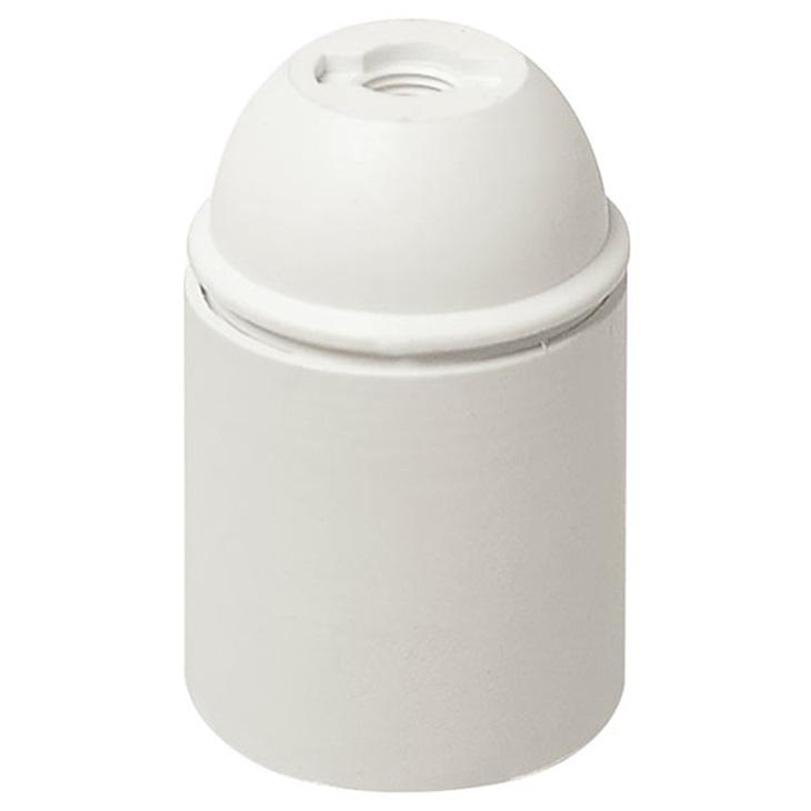 Portalmpd E27 cpfil cm/lisc. bianco