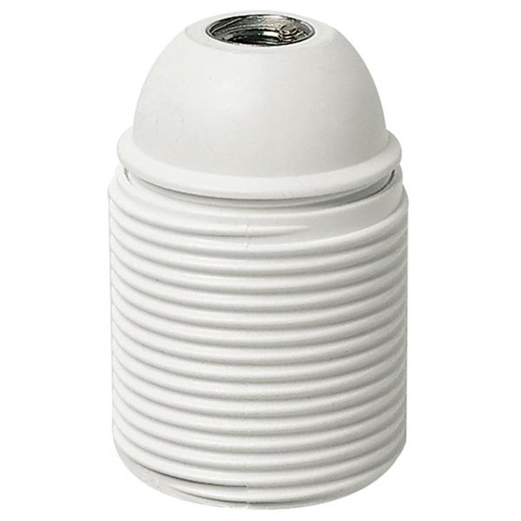 Portalmpd E27 M10x1 cm/fil. bianco