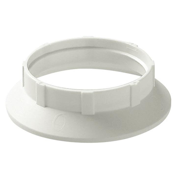 Anello per portalampada E27 bianco