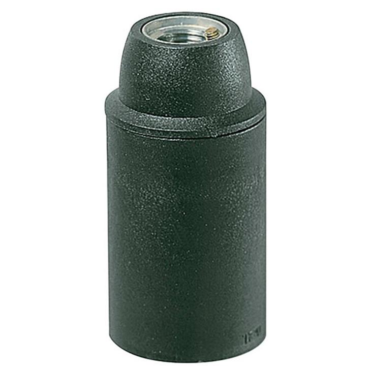 Portalmpd E14 M10x1 cm/lisc nero