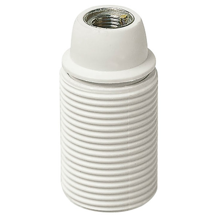 Portalmpd E14 M10x1 cm/fil bianco