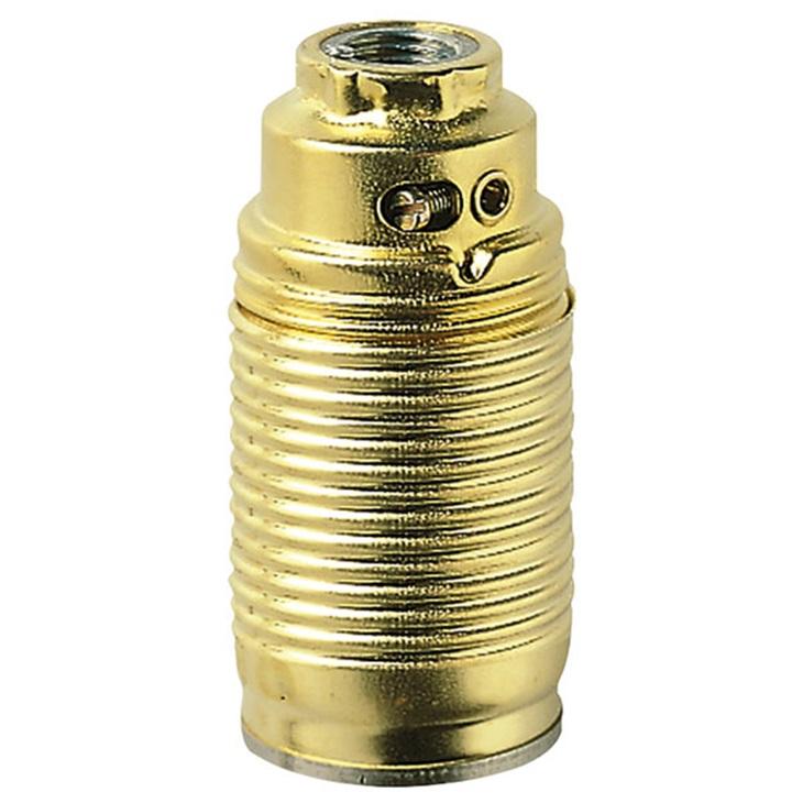 Portalmpd E14 M10x1 cm+cpt/fil ottone