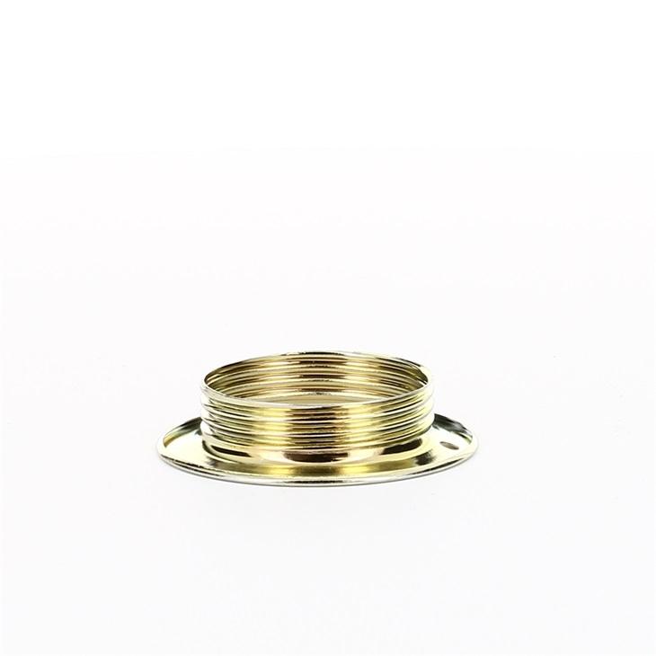 Anello fermaparalume metallico per portalampade E27