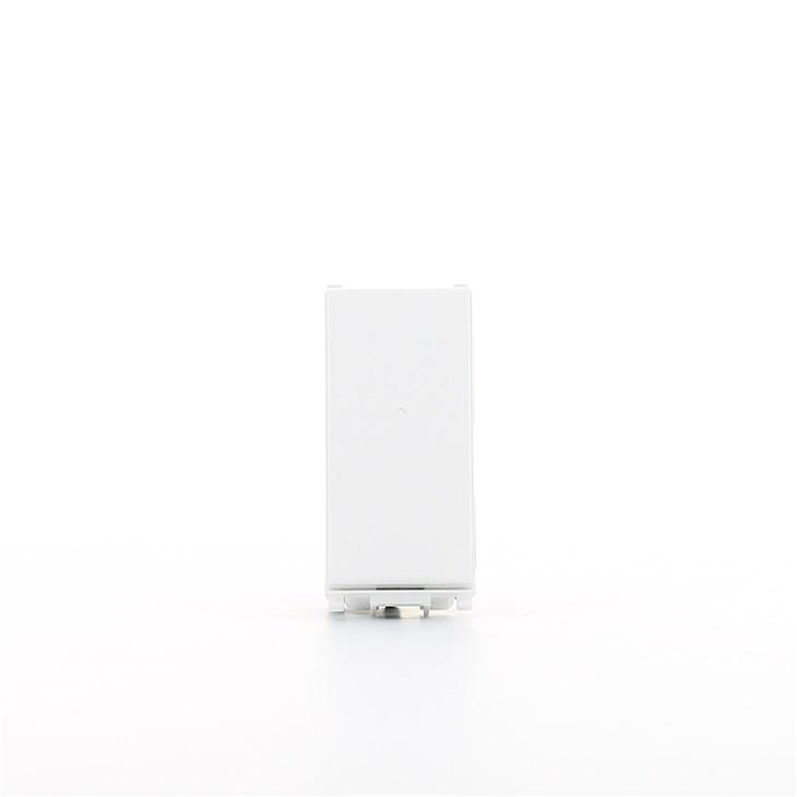 Deviatore illuminabile bianco 1P 10 AX 250 V~ Serie Plana Plana