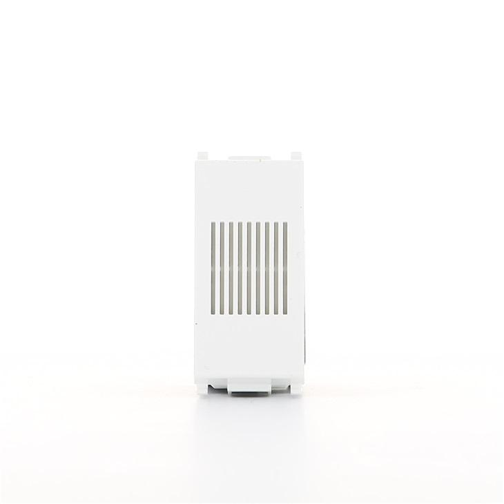 Suoneria 12 V~ (SELV) 50-60 Hz 8 VA bianco Plana
