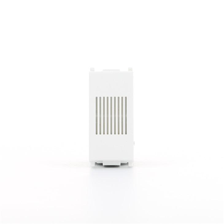 Suoneria 230 V~ 50-60 Hz 8 VA bianco Plana