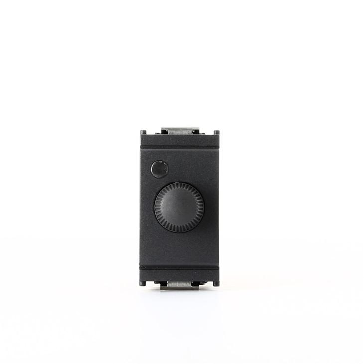 Regolatore 230v 100-500w + Push grigio Idea