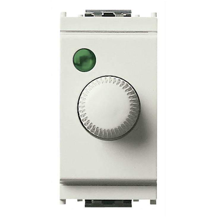 Regolatore 230V 100-500W +push bianco Idea