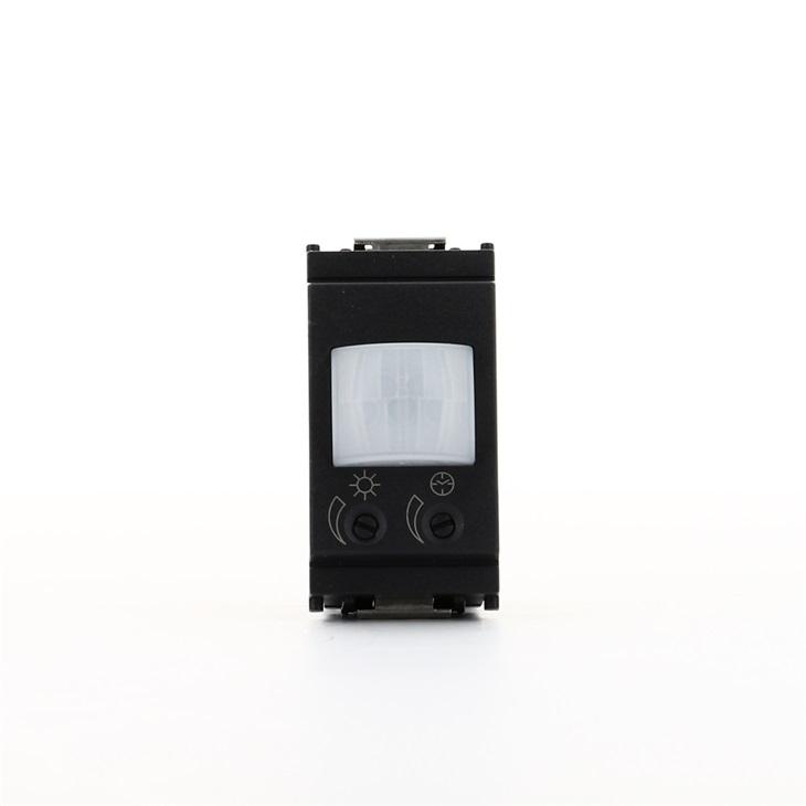 Interruttore con sensore di presenza ad infrarossi 230V grigio Idea