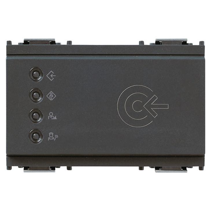 Lettore transponder esterno KNX grigio