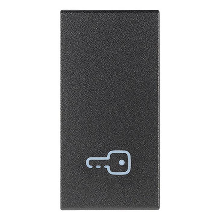 Tasto 1M simbolo chiave grigio Arkè