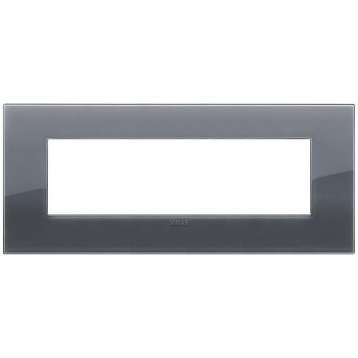 Placca Classic 7M Reflex grigio fumè