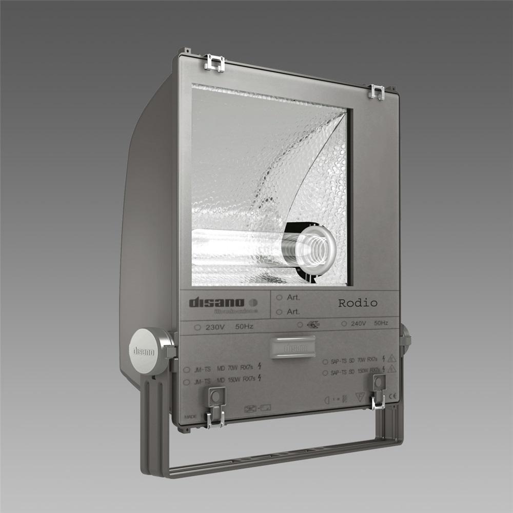 Proiettore in alluminio senza telaio grafite RODIO 3 1803