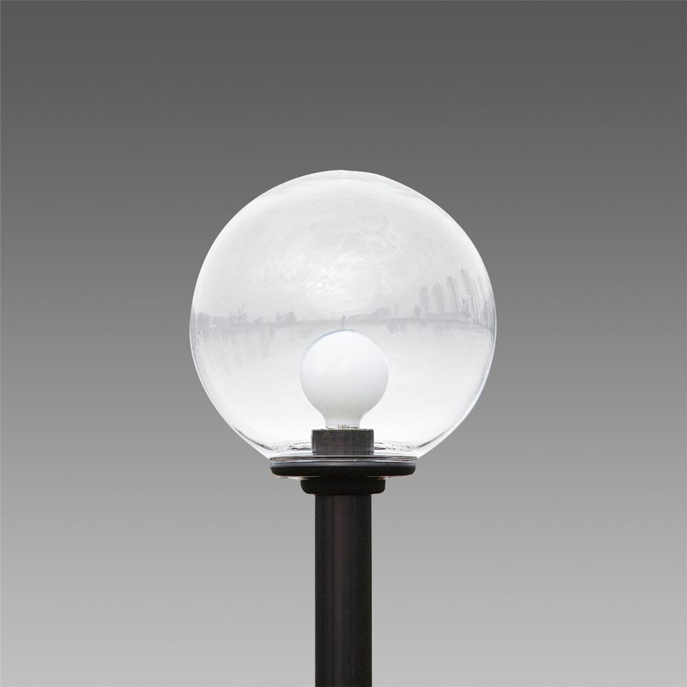 Globo Sferico a colonna trasparente S 1350