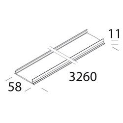 Copertura Per Canale 6005 Bianco Disano Illuminazione