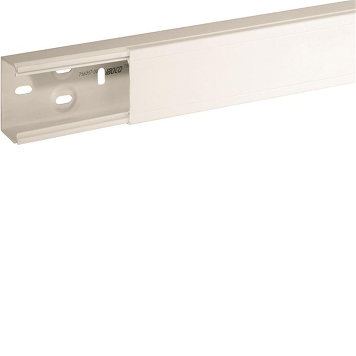 Canale porta apparecchi e porta cavi ad elevate prestazioni bianco TA-N 60x40 mm