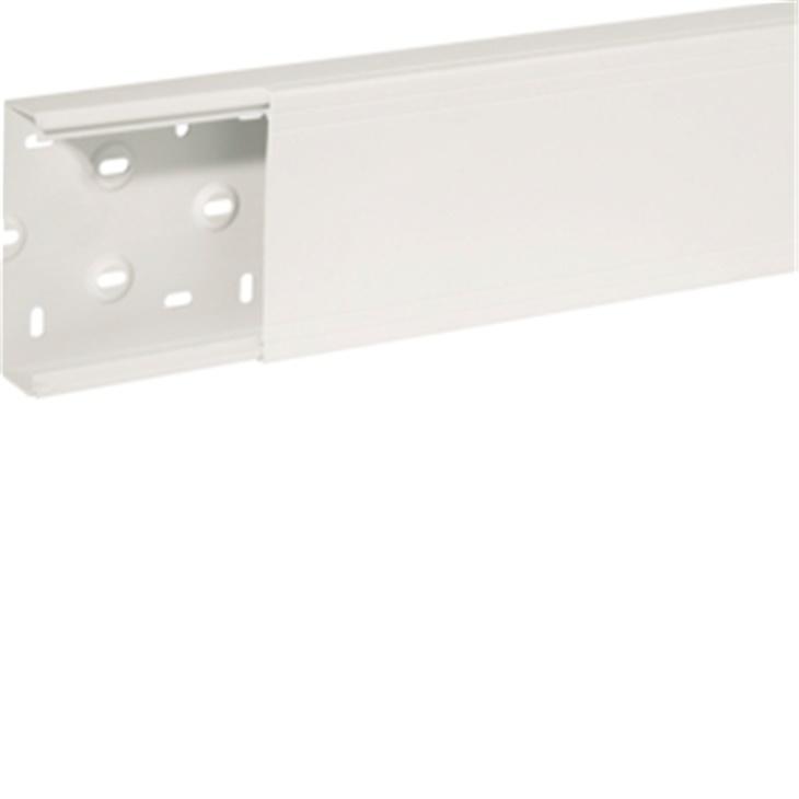 Canale porta apparecchi e porta cavi ad elevate prestazioni bianco TA-N 100x40 mm