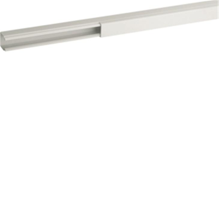Distanziatore base minicanale bianco TMC 15/1x17 fori diametro 2,5 mm Interasse 125 mm