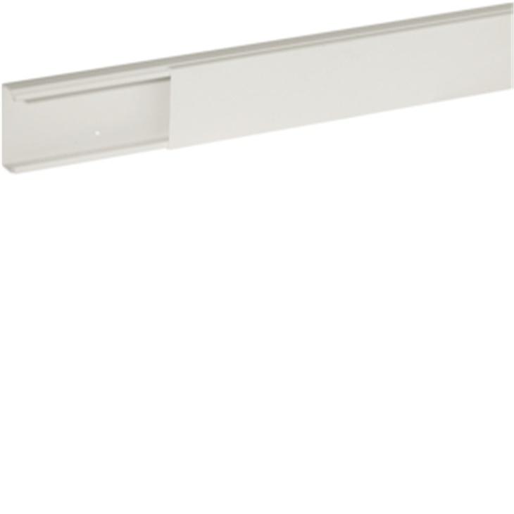 Distanziatore base minicanale bianco TMC 50/1x20 fori diametro 2,5 mm Interasse 125 mm
