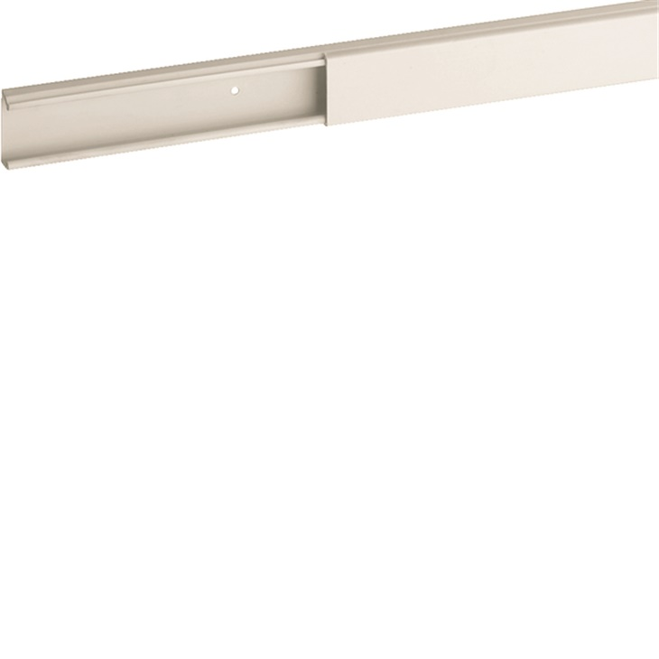 Distanziatore base minicanale bianco TMC 22/1x10 fori diametro 2,5 mm Interasse 125 mm