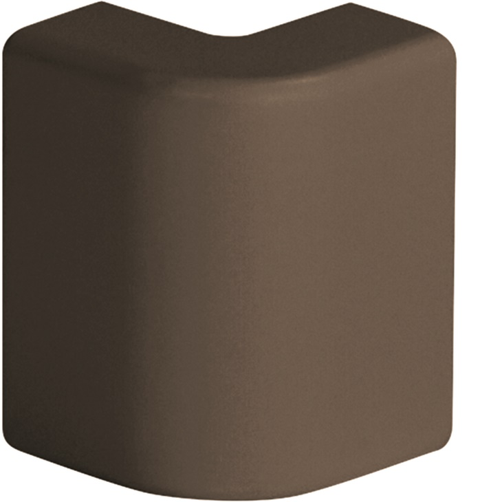 AEM 22x10 B Angolo esterno per minicanali TMC/TMU MARRONE