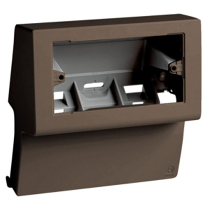 SBNI 4-3 B Scatola porta apparecchi UNIVERSALE per canale TBN MARRONE
