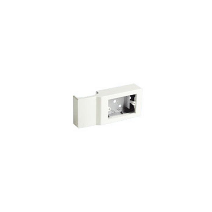 Scatola porta apparecchi 3 moduli Interasse 83,5 mm Profondità 43 mm per cornice bianco TCN SRCNI