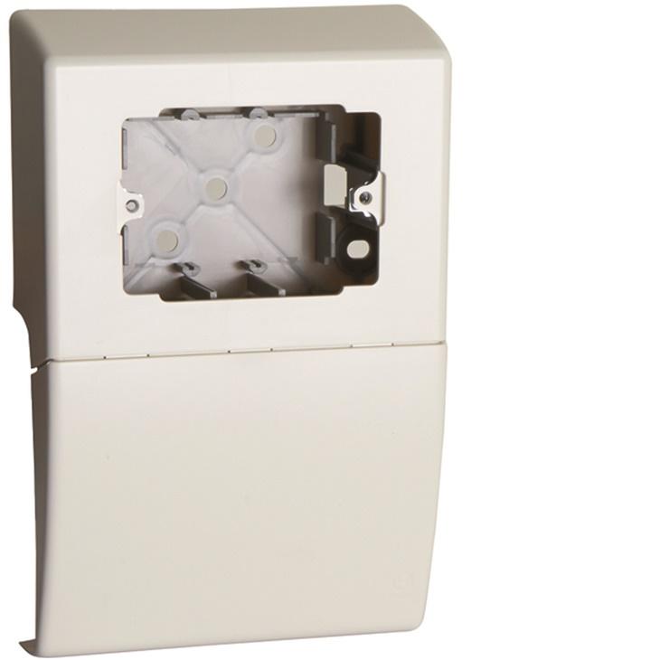 SBA3 W Scatola porta apparecchi UNIVERSALE 3 moduli linea TBA-Art BIANCO