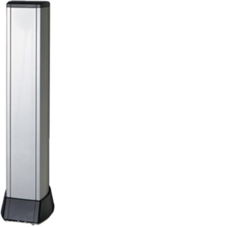 BIS 1500 AO Colonna bifacciale in alluminio porta apparecchi ALLUMINIO OPACO