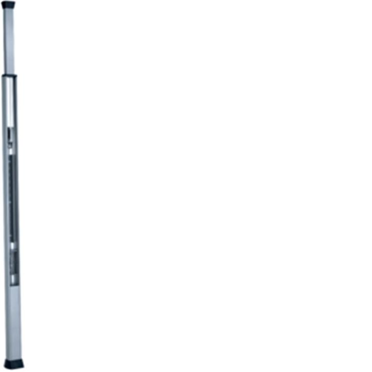 UNA 2700 AO Colonna monofacciale alluminio porta apparecchi ALLUMINIO OPACO