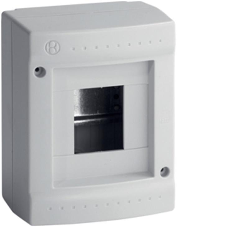 IP40 STD 04 GRI Centralino 4 moduli senza portella Pablo IP40 Standard GRIGIO