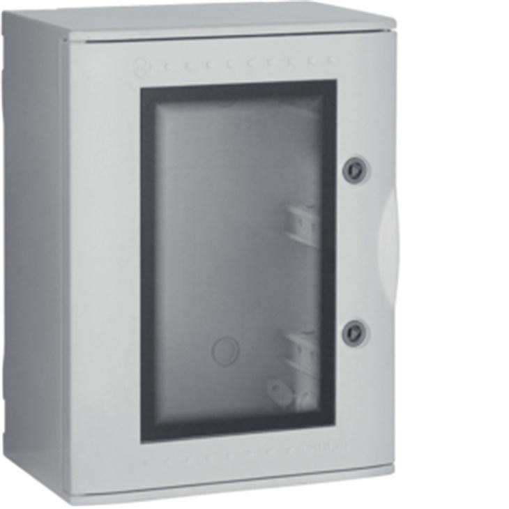 VTR 02 OBLO\ Quadro con oblò in vetroresina IP66 36 moduli GRIGIO