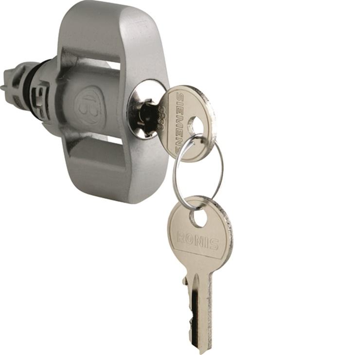 SR VTR Serratura con chiave metallica per quadri Pedro