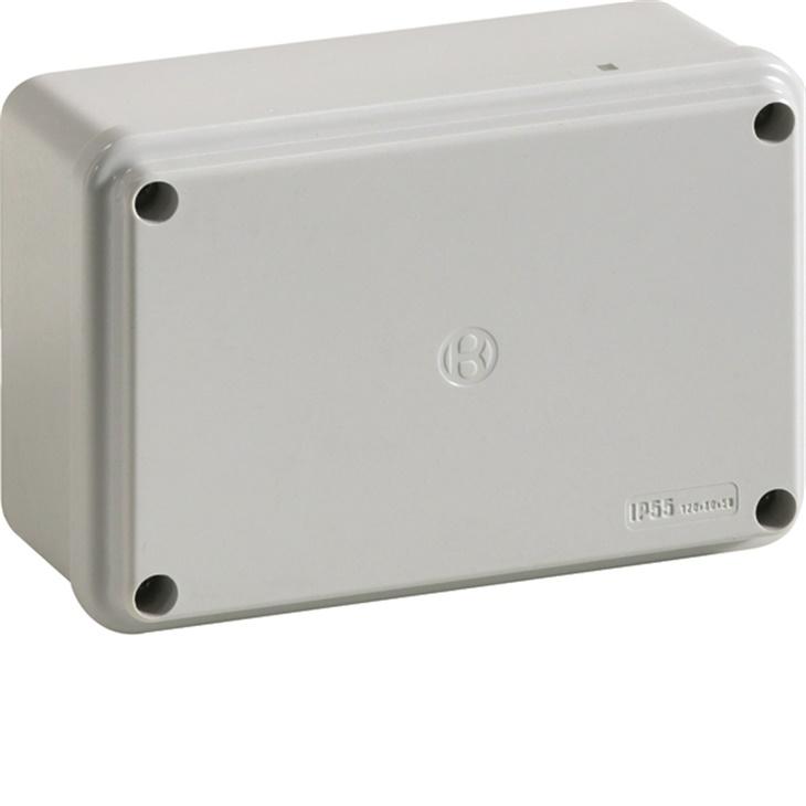 IP56 02 VM Cassetta di derivazione stagna da parete con viti metalliche GRIGIO