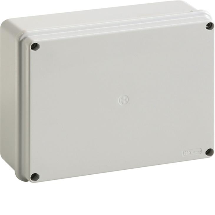 IP56 04 VM Cassetta di derivazione stagna da parete con viti metalliche GRIGIO