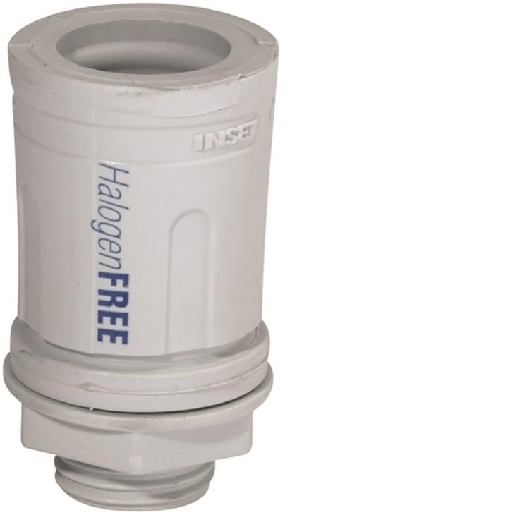 RSHN 32 Raccordo tubo/scatola ad innesto rapido IP67 Hologen Free GRIGIO
